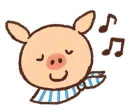 ANTON the piglet sticker #474873