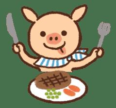 ANTON the piglet sticker #474874
