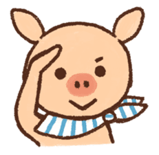 ANTON the piglet sticker #474875