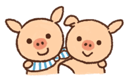 ANTON the piglet sticker #474876