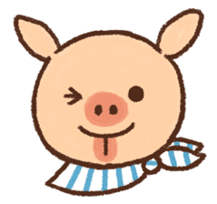 ANTON the piglet sticker #474877