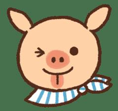 ANTON the piglet sticker #474877