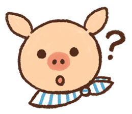 ANTON the piglet sticker #474879