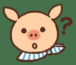 ANTON the piglet sticker #474879