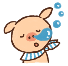 ANTON the piglet sticker #474880