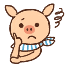 ANTON the piglet sticker #474881