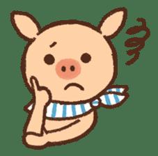 ANTON the piglet sticker #474881