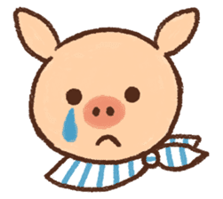 ANTON the piglet sticker #474882