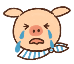 ANTON the piglet sticker #474883