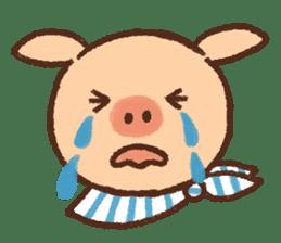 ANTON the piglet sticker #474883