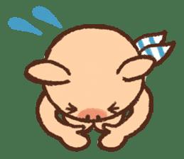 ANTON the piglet sticker #474884