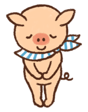 ANTON the piglet sticker #474887