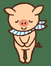 ANTON the piglet sticker #474887