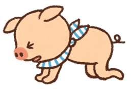 ANTON the piglet sticker #474888
