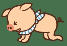 ANTON the piglet sticker #474888