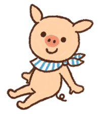 ANTON the piglet sticker #474889