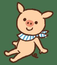 ANTON the piglet sticker #474889