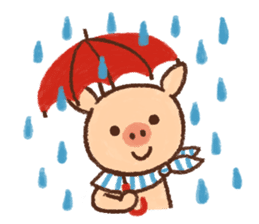 ANTON the piglet sticker #474891