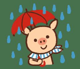 ANTON the piglet sticker #474891