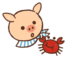 ANTON the piglet sticker #474893