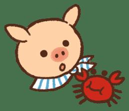 ANTON the piglet sticker #474893