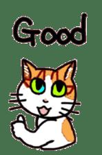 Uni of the cat sticker #475136