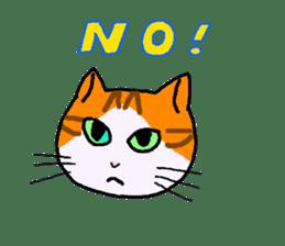 Uni of the cat sticker #475154