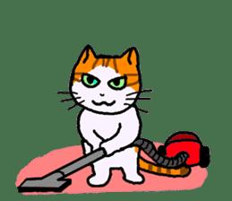 Uni of the cat sticker #475167