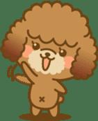 Kawaii Dog - Toy Poodle sticker #475295