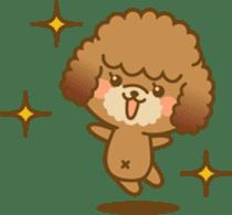 Kawaii Dog - Toy Poodle sticker #475297