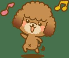 Kawaii Dog - Toy Poodle sticker #475298
