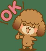 Kawaii Dog - Toy Poodle sticker #475300
