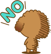 Kawaii Dog - Toy Poodle sticker #475301