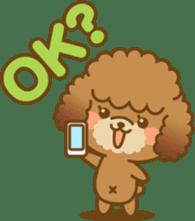 Kawaii Dog - Toy Poodle sticker #475302