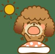 Kawaii Dog - Toy Poodle sticker #475303