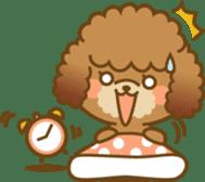 Kawaii Dog - Toy Poodle sticker #475304