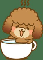 Kawaii Dog - Toy Poodle sticker #475306