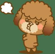 Kawaii Dog - Toy Poodle sticker #475309