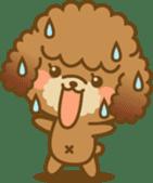Kawaii Dog - Toy Poodle sticker #475311