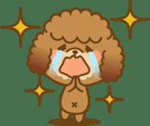 Kawaii Dog - Toy Poodle sticker #475312