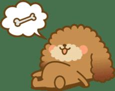 Kawaii Dog - Toy Poodle sticker #475322
