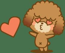 Kawaii Dog - Toy Poodle sticker #475323