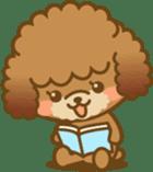 Kawaii Dog - Toy Poodle sticker #475326