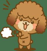 Kawaii Dog - Toy Poodle sticker #475328