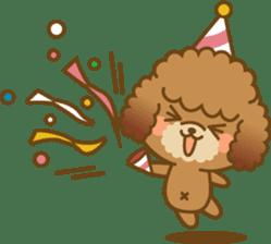 Kawaii Dog - Toy Poodle sticker #475331