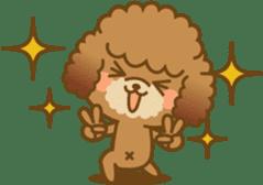 Kawaii Dog - Toy Poodle sticker #475333