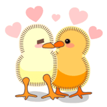 Chicken and Egg sticker #475779