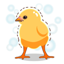 Chicken and Egg sticker #475795