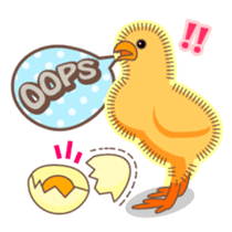 Chicken and Egg sticker #475800