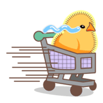 Chicken and Egg sticker #475806